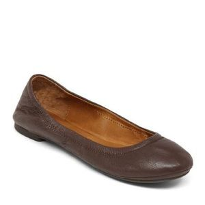 Lucky Brand Dark Brown Emmie Flats
